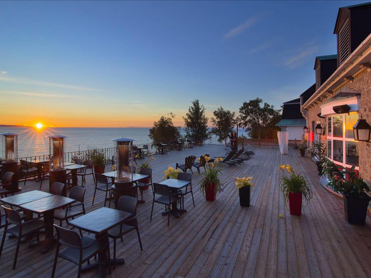 Restaurant and bar | Hôtel Rimouski